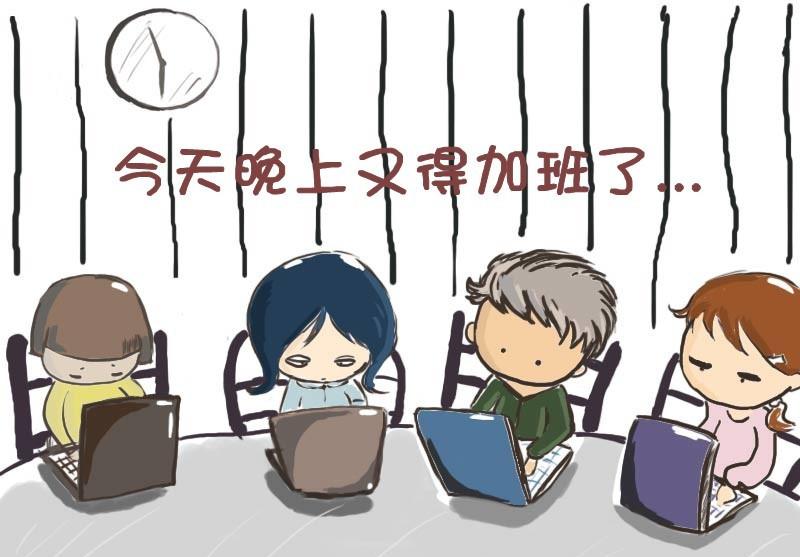 """临沂招聘网浅谈职场""""被迫加班""""现象"""
